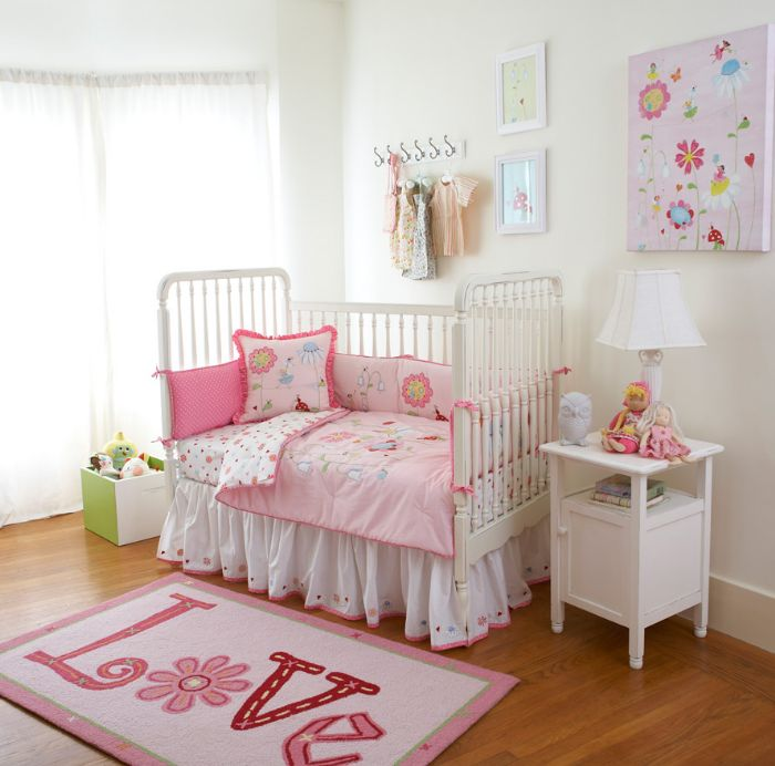 Natureland Fairies Baby & Toddler Bedding Collection by The Little Acorn