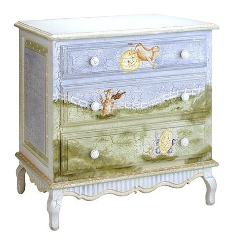 French Chest in Nursery Rhymes by AFK Art For Kids