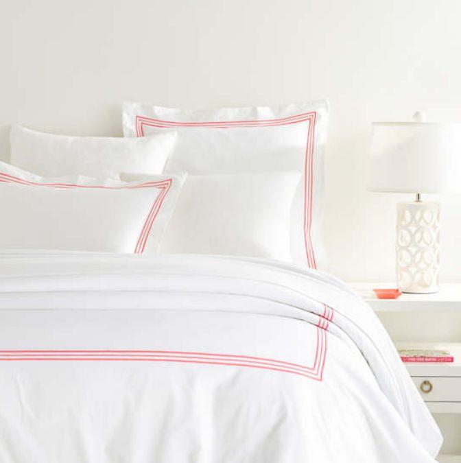 Trio Coral Bedding by Pine Cone Hill