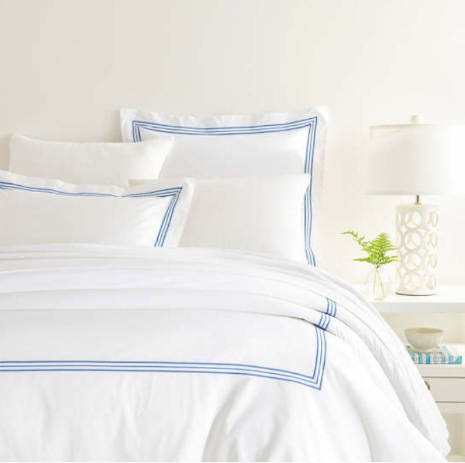 Trio French Blue Bedding by Pine Cone Hill