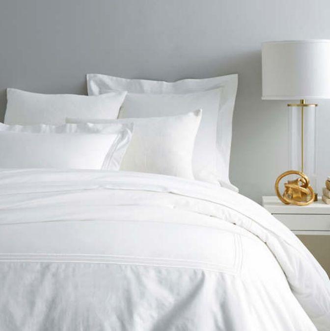Trio White Bedding by Pine Cone Hill