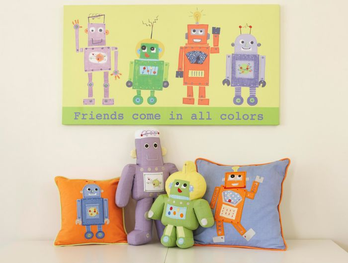 Robots Baby & Toddler Collection by The Little Acorn