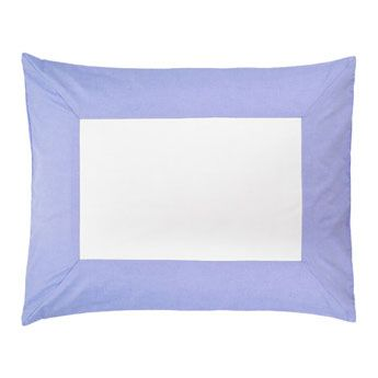 Chambray Color Frame Standard Sham by Serena & Lily