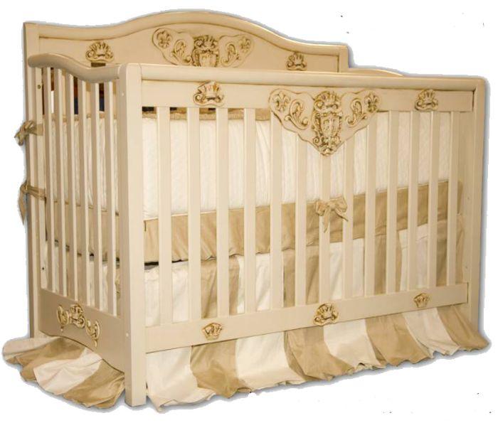 Royal Baby Convertible Crib by Villa Bella