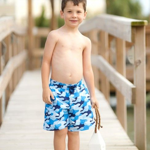 Swim Trunks by Monogram Boutique