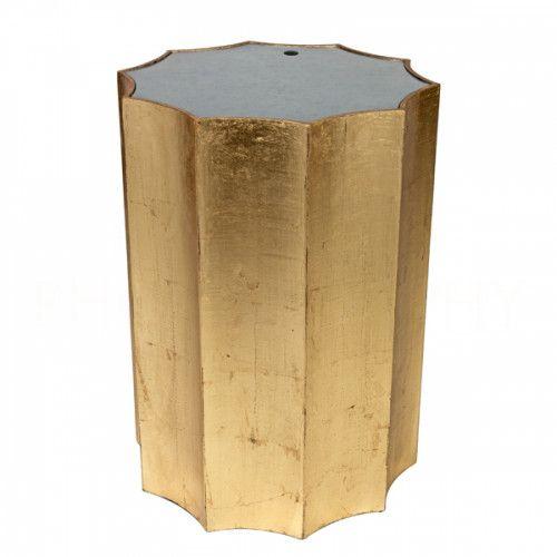 Emmeline Side Table in Gold by Aidan Gray