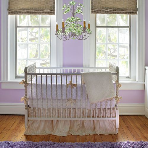 Antique Spindle Crib in Versailles by AFK Art For Kids
