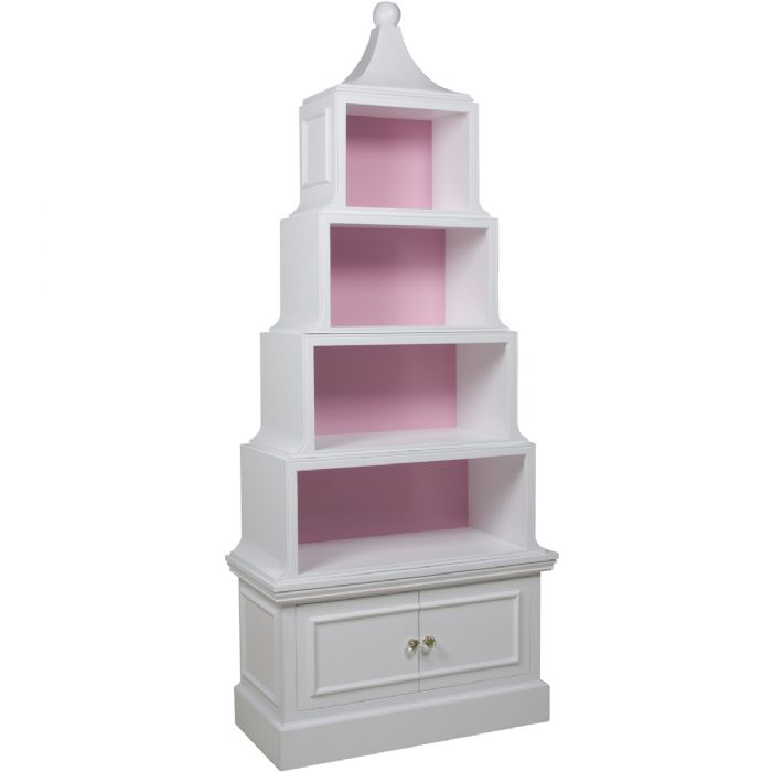 Pagoda Book Case by AFK Art For Kids