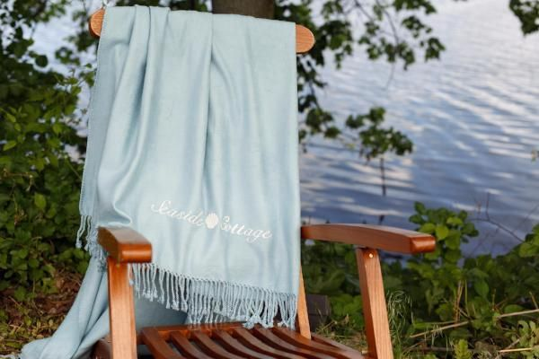 Brushed Bamboo Fringed Throw by ASI