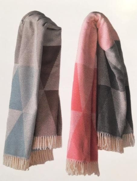 Geometric Ombre Throw by ASI