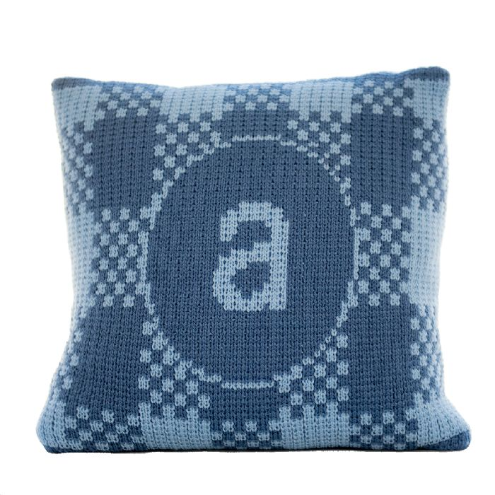 Gingham Pillow by Butterscotch Blankees