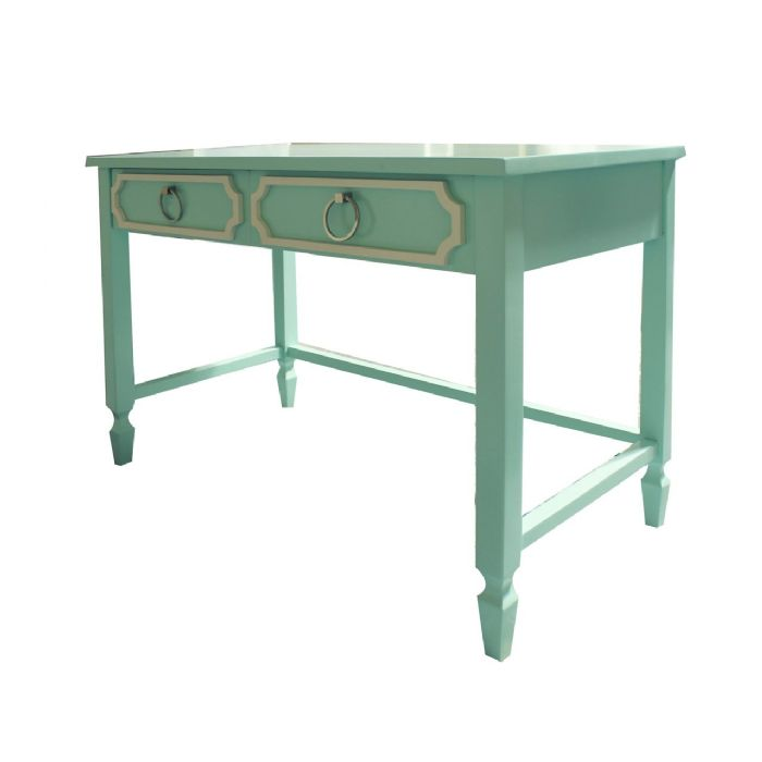 Beverly Writing Desk in Mint by Newport Cottages