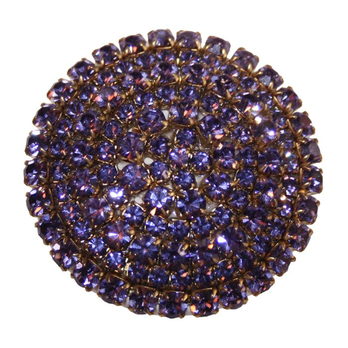 Brilliant Drawer Knob in Lavender by Country Cottage