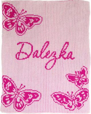 Butterfly Blanket by Butterscotch Blankees