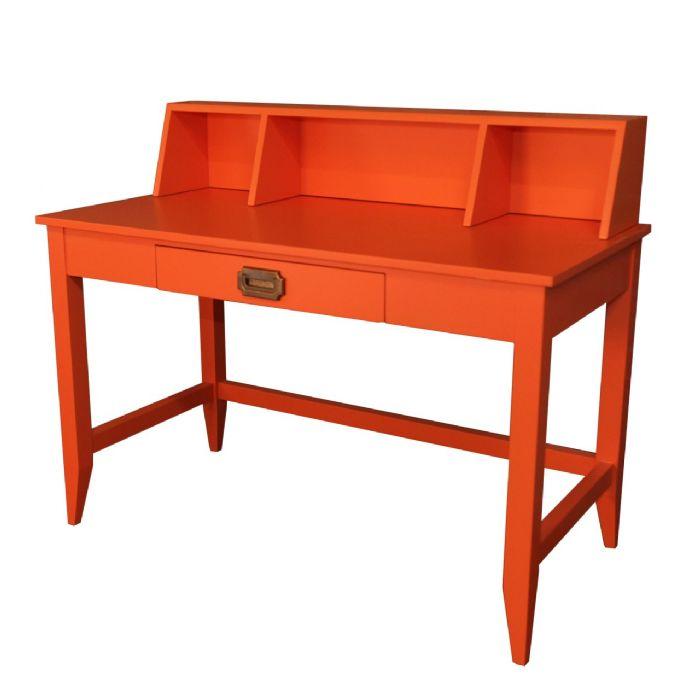 Devon Desk with Hutch in Orange Juice by Newport Cottages