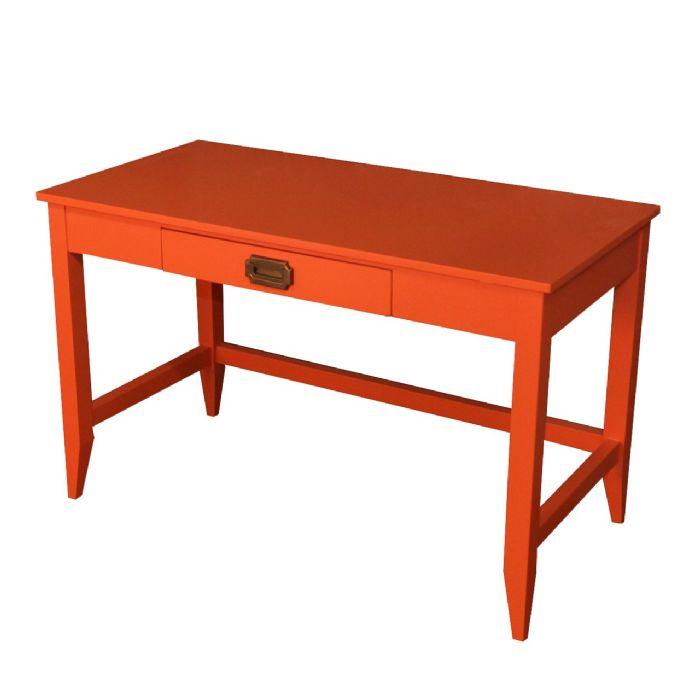 Devon Desk in Orange Juice by Newport Cottages