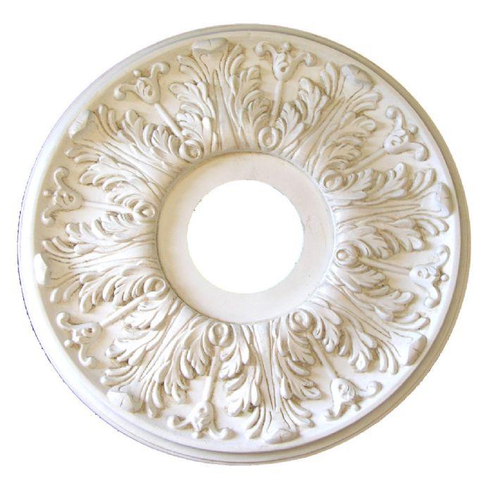 Elegance Ceiling Medallion in Antique White by I Lite 4 U