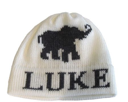 Elephant Hat by Butterscotch Blankees