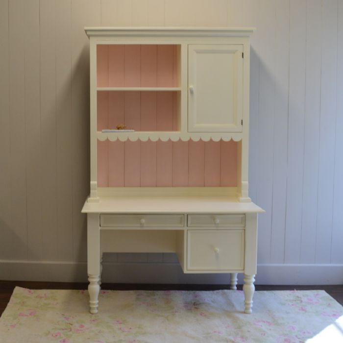 Emma's Cottage Desk with Hutch by English Farmhouse Furniture