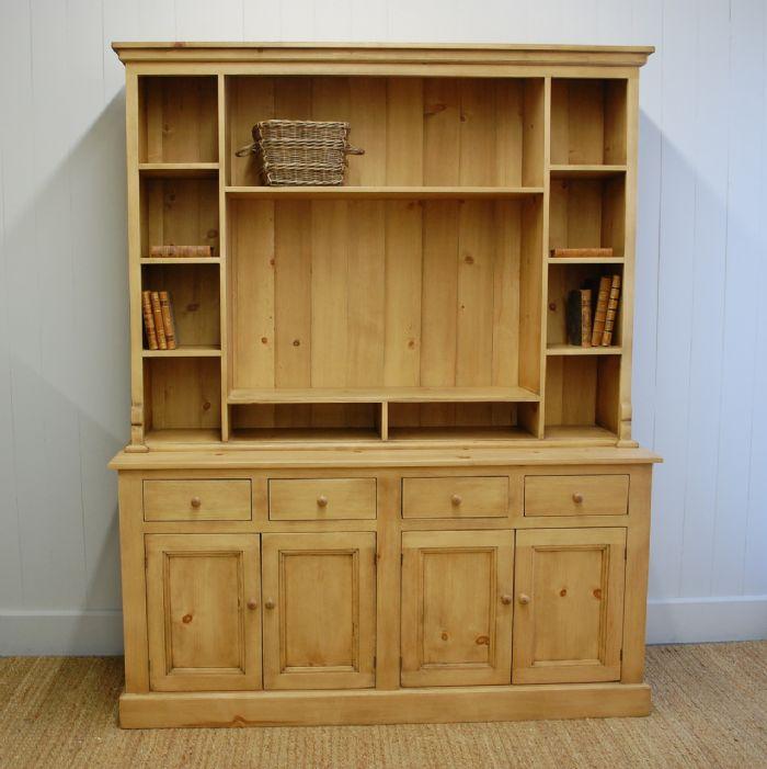 English Pine Media Hutch by English Farmhouse Furniture