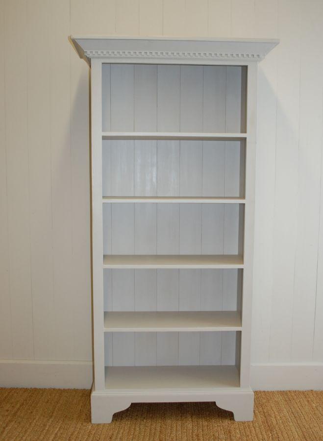 English Tall Bookcase by English Farmhouse Furniture
