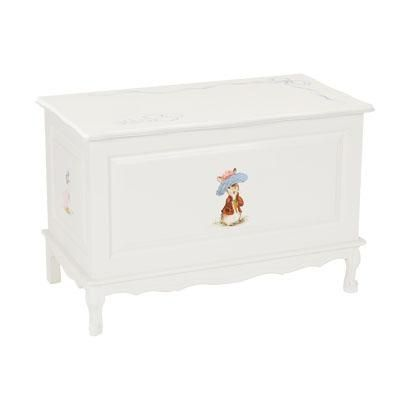 French Toy Chest in Classic Enchanted Forest by AFK Art For Kids