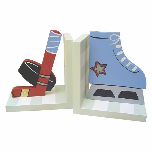 Hockey Bookends by Wish Upon A Star