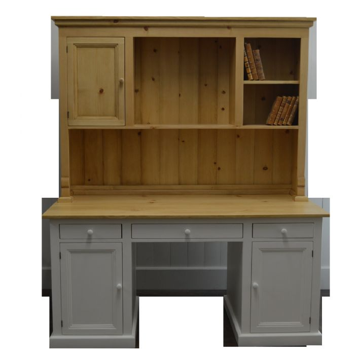 Kitchen Desk and Hutch by English Farmhouse Furniture