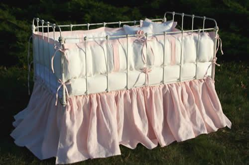 Anjou Crib Baby Bedding by Lulla Smith