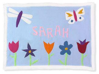 Mary Mary Crib Blanket by Little Moonjumper