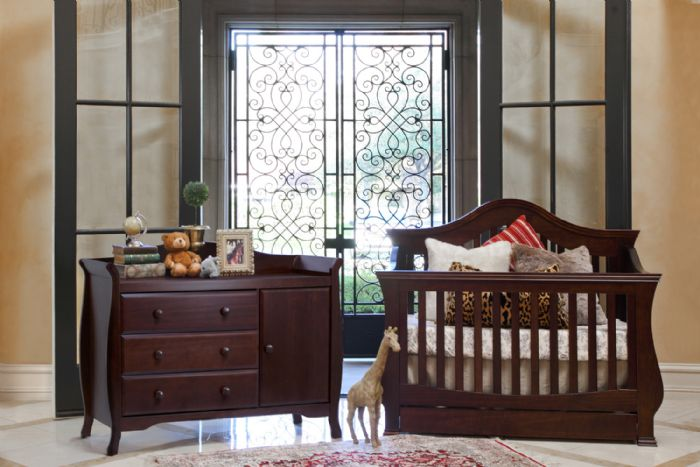 Ashbury Collection in Espresso by Million Dollar Baby Classic