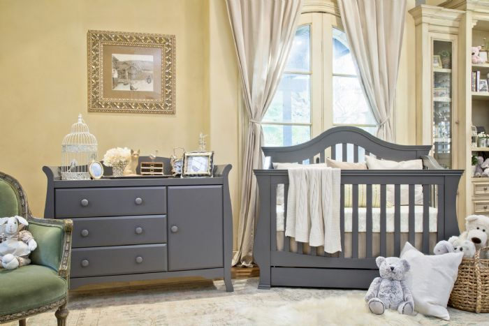 Ashbury Collection in Manor Grey by Million Dollar Baby Classic
