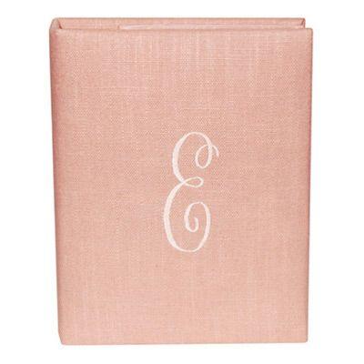 Blush Linen (no ribbon) Baby Book by Jan Sevadjian Designs