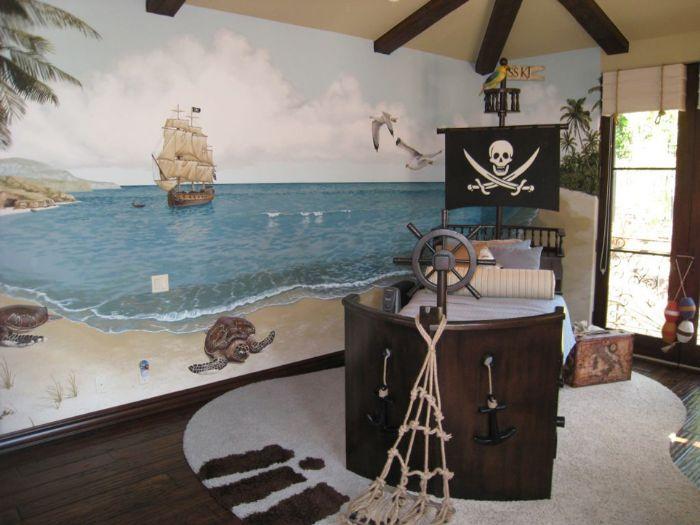 Pirate Ship Bed by Bibi's Custom Made