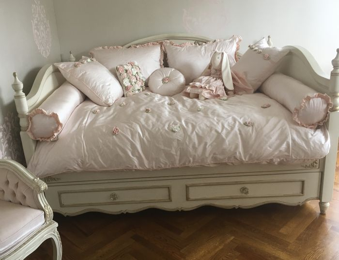 Provence Rose Daybed Children's - Adult Bedding by Lulla Smith