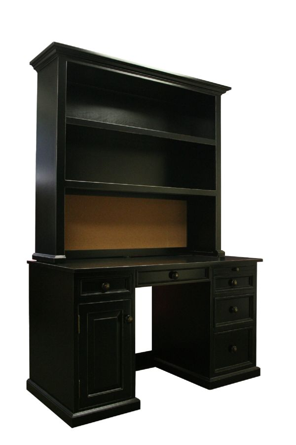 River Kids Computer Desk & Hutch by Country Cottage