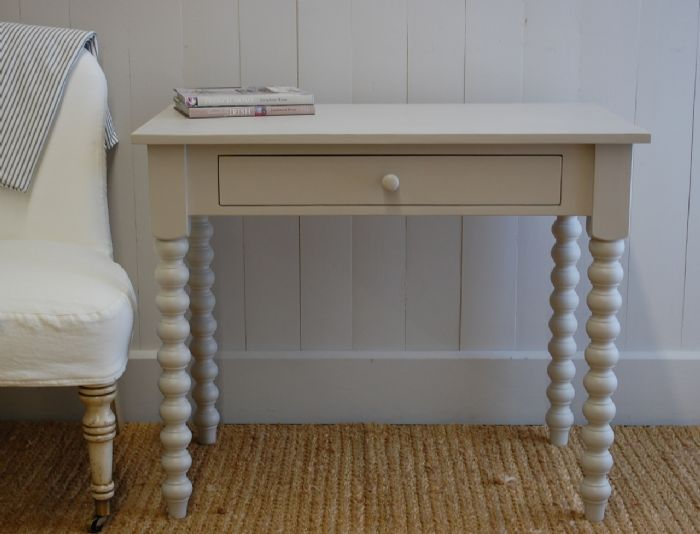 Spindle Writing Table by English Farmhouse Furniture