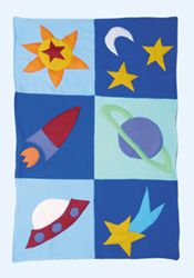 Stargazer Quilt by Little Moonjumper