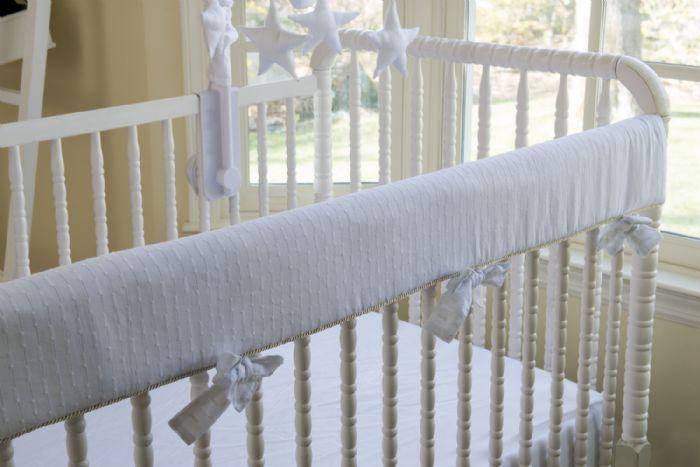 Stella Crib Baby Bedding- Crib Rail Covers by Bebe Chic