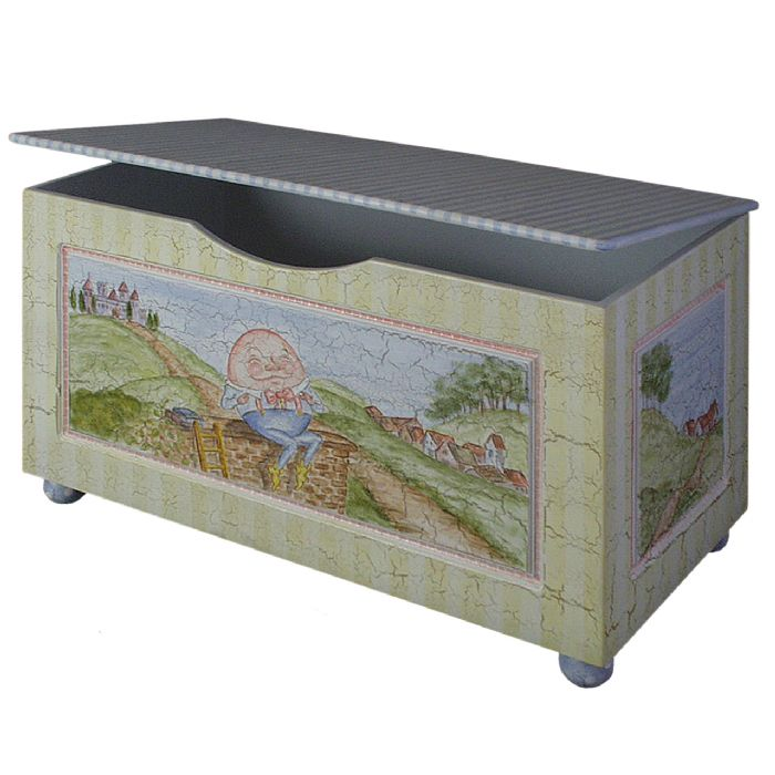 Toy Chest with Bun Foot in Nursery Rhymes by AFK Art For Kids