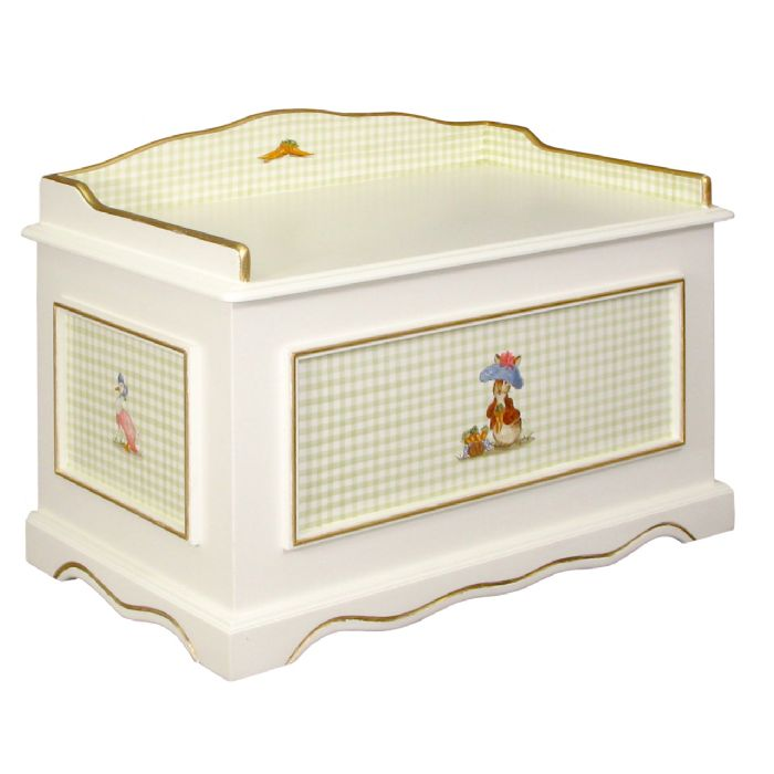 Vintage Toy Chest in Classic Enchanted Forest by AFK Art For Kids